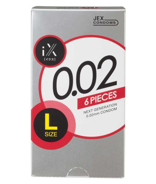 iX 0.02 condom Large Size 6pcs