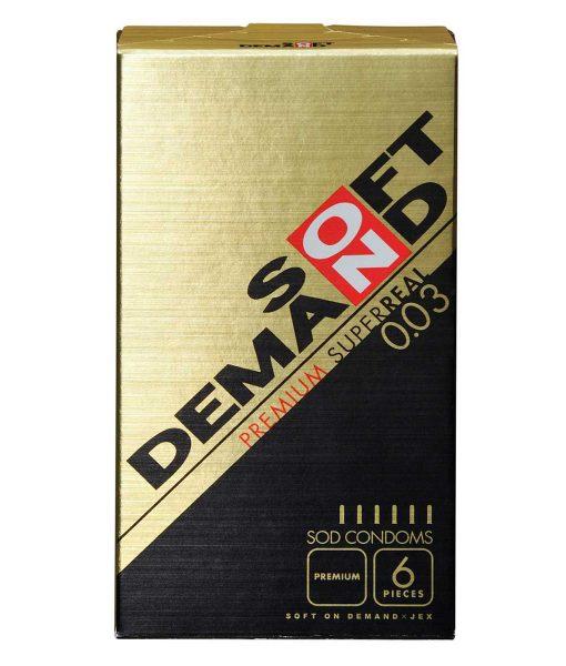Soft On-Demand 0.03 condom Premium super real 6pcs