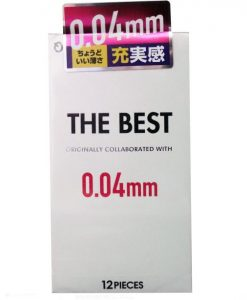 Fuji Latex The Best condom 0.04mm 12pcs